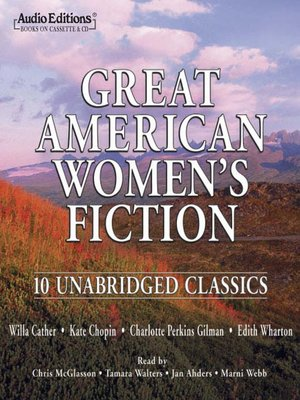 cover image of Great American Women's Fiction