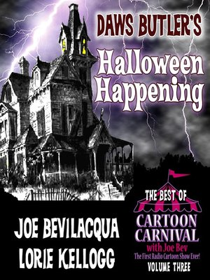 cover image of Daws Butler's Halloween Happening