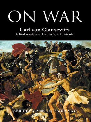 cover image of On War