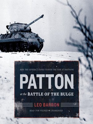 cover image of Patton at the Battle of the Bulge