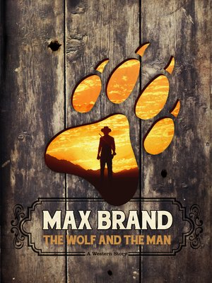 cover image of The Wolf and the Man