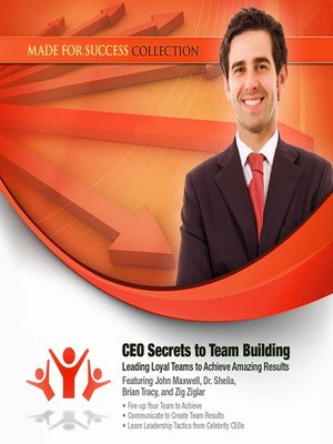 cover image of CEO Secrets to Team Building