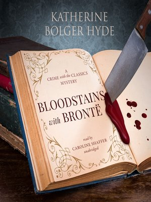 cover image of Bloodstains with Bronte