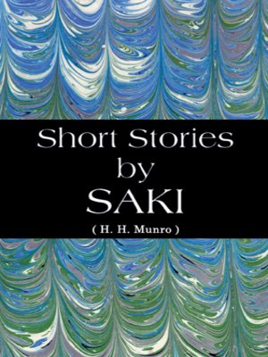 cover image of Short Stories by Saki