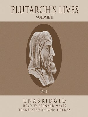cover image of Plutarch's Lives, Volume 2