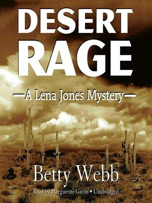 cover image of Desert Rage
