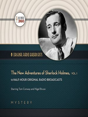 cover image of The New Adventures of Sherlock Holmes, Volume 1