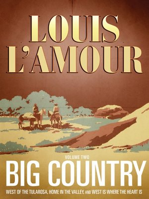 cover image of Big Country, Volume 2