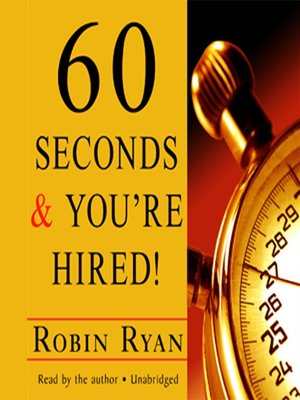 60 seconds and you re hired free ebook