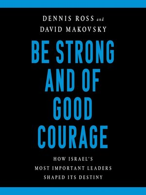cover image of Be Strong and of Good Courage
