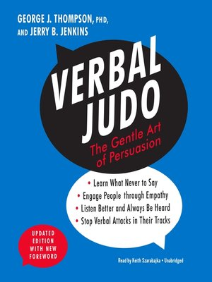 cover image of Verbal Judo, Updated Edition