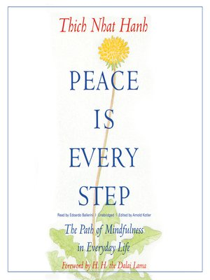 cover image of Peace Is Every Step