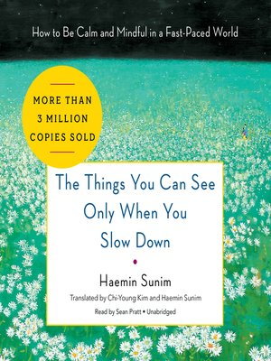 cover image of The Things You Can See Only When You Slow Down