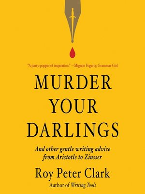 cover image of Murder Your Darlings