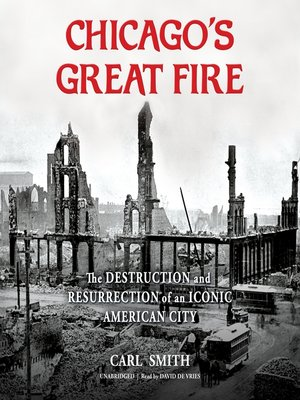 cover image of Chicago's Great Fire