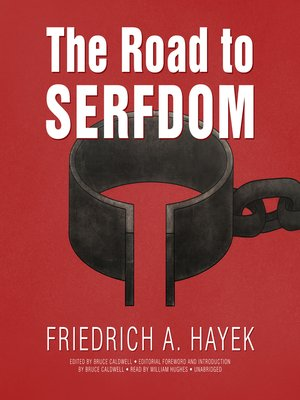 cover image of The Road to Serfdom, the Definitive Edition
