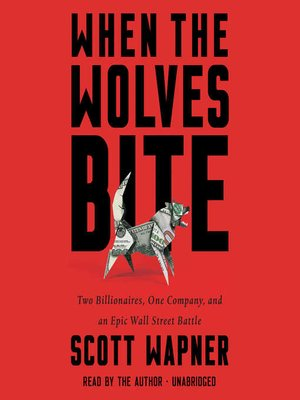 cover image of When the Wolves Bite