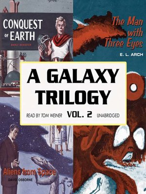 cover image of A Galaxy Trilogy, Volume 2