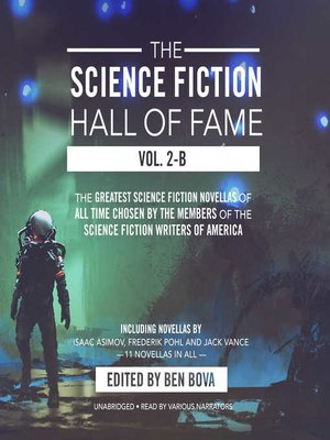 cover image of The Science Fiction Hall of Fame, Volume 2B