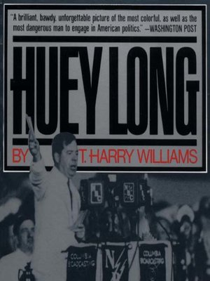cover image of Huey Long