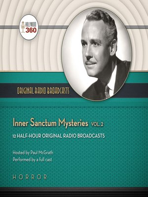 cover image of Inner Sanctum Mysteries, Volume 2