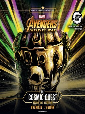 cover image of Marvel's Avengers: Infinity War, The Cosmic Quest, Volume 1