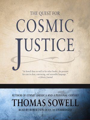 cover image of The Quest for Cosmic Justice