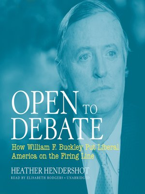 cover image of Open to Debate
