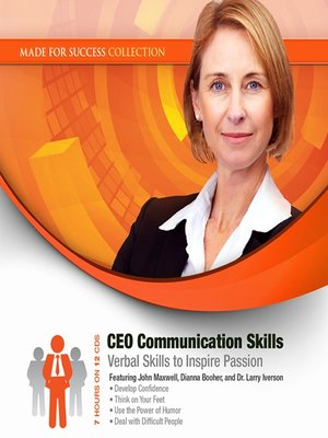 cover image of CEO Communication Skills