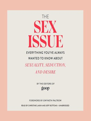 cover image of The Sex Issue