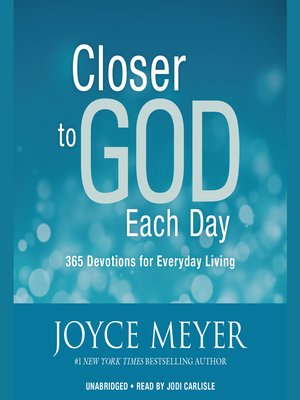 cover image of Closer to God Each Day