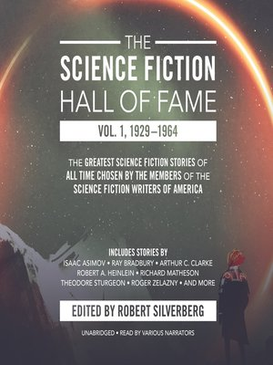 cover image of The Science Fiction Hall of Fame, Volume 1: 1929–1964