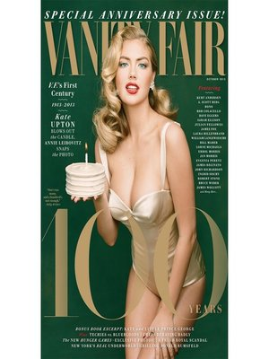 cover image of Vanity Fair: October 2013 Issue