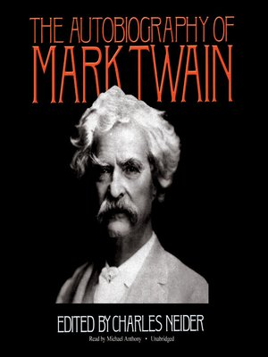 cover image of The Autobiography of Mark Twain