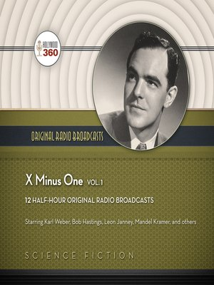 cover image of X minus One, Volume 1