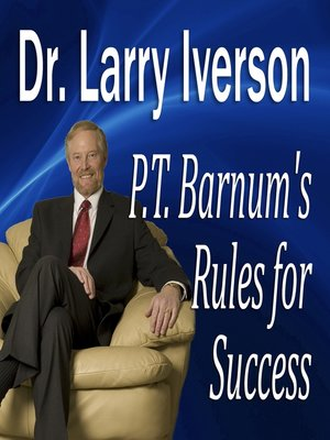 cover image of P.T. Barnum's Rules for Success