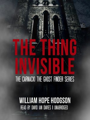 cover image of The Thing Invisible