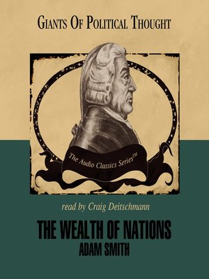 cover image of The Wealth of Nations