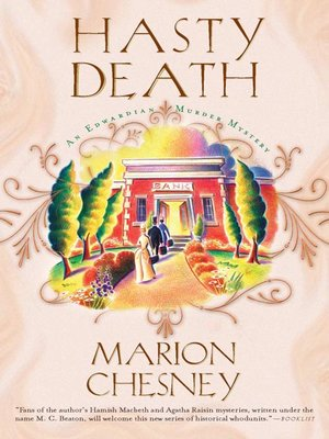 cover image of Hasty Death