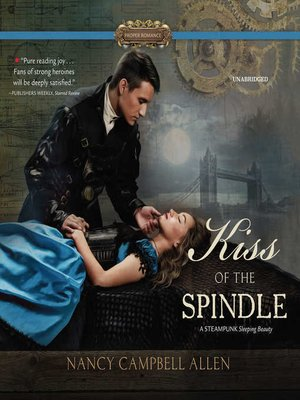 cover image of Kiss of the Spindle