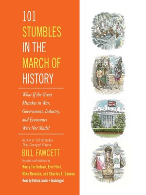 cover image of 101 Stumbles in the March of History