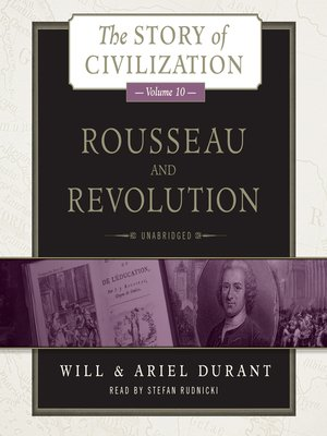 cover image of Rousseau and Revolution
