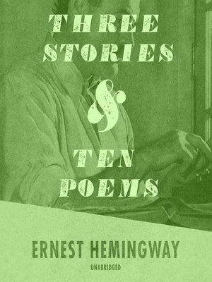 cover image of Three Stories and Ten Poems