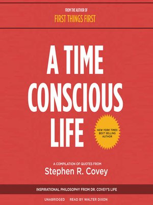 cover image of A Time Conscious Life