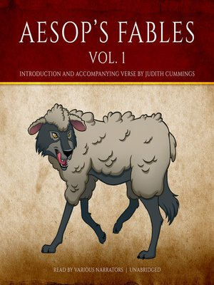 cover image of Aesop's Fables, Volume 1