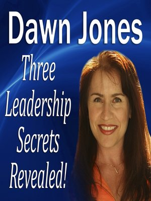 cover image of Three Leadership Secrets Revealed