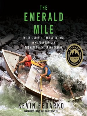 cover image of The Emerald Mile