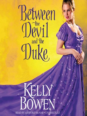 cover image of Between the Devil and the Duke