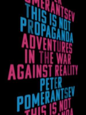 cover image of This Is Not Propaganda