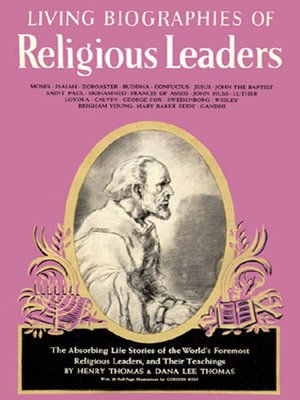 cover image of Living Biographies of Religious Leaders